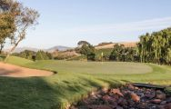 All The De Zalze Golf Club's impressive golf course in astounding South Africa.