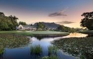 View Fancourt Outeniqua Course's beautiful golf course in dramatic South Africa.