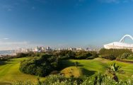 All The Durban Country Club's beautiful golf course in striking South Africa.