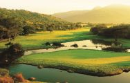 View Lost City Golf Course's picturesque golf course in marvelous South Africa.