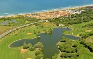 The Novo Sancti Petri Golf 's impressive golf course situated in fantastic Costa de la Luz.