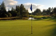 The The Queens Course - Gleneagles's impressive golf course situated in sensational Scotland.