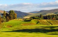 View The Kings Course - Gleneagles's impressive golf course situated in dazzling Scotland.