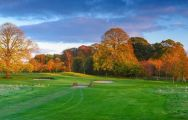 The Galgorm Castle Golf Club's beautiful golf course situated in sensational Northern Ireland.