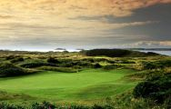 The Royal Portrush Golf Club's lovely golf course within impressive Northern Ireland.