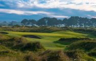 The Portmarnock Links's picturesque golf course situated in sensational Southern Ireland.