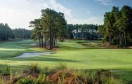 The Pinehurst Resort Golf's lovely golf course situated in staggering North Carolina.