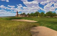 View Harbour Town Golf Links's picturesque golf course within striking South Carolina.