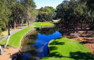 All The Harbour Town Golf Links's picturesque golf course within gorgeous South Carolina.