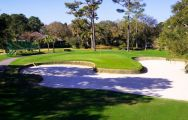 The Harbour Town Golf Links's beautiful golf course in sensational South Carolina.