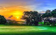 The Charleston National Golf Club's lovely golf course situated in staggering South Carolina.