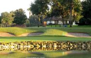 The Bay Hill Golf Club's beautiful golf course situated in faultless Florida.