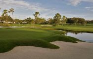 View Bay Hill Golf Club's beautiful golf course within dramatic Florida.