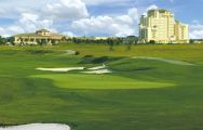 The Omni Orlando Resort Golf's beautiful golf course in striking Florida.