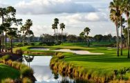 The PGA National Resort Golf's beautiful golf course within amazing Florida.