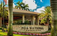 The PGA National Resort Golf's impressive golf course in incredible Florida.