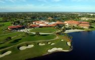 View PGA National Resort Golf's scenic golf course situated in vibrant Florida.