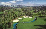 The LPGA International's beautiful golf course situated in marvelous Florida.