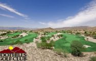 All The Foothills Golf Club's impressive golf course in faultless Arizona.