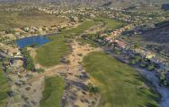 View Foothills Golf Club's scenic golf course situated in stunning Arizona.