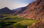 The La Quinta Resort Golf's picturesque golf course situated in sensational California.