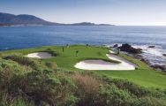 Pebble Beach Golf Links offers among the preferred golf course in California