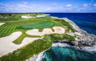 The Puntacana Golf Club's impressive golf course within astounding Dominican Republic.
