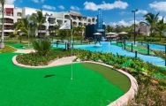 View Hard Rock Golf Club at Cana Bay's lovely golf course within striking Dominican Republic.