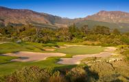 The Steenberg Golf Club's picturesque golf course in incredible South Africa.