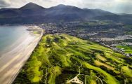 All The Royal County Down Golf Club's lovely golf course in dramatic Northern Ireland.