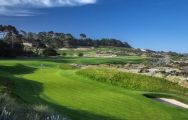 The Spyglass Hill Golf Course's impressive golf course situated in pleasing California.