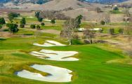 The CordeValle Golf's beautiful golf course in sensational California.