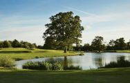 The Hanbury Manor Country Club's scenic golf course in fantastic Hertfordshire.