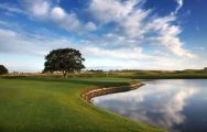 View The Oxfordshire Golf Club's lovely golf course in vibrant Oxfordshire.