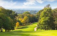 The Sandford Springs Golf Club's impressive golf course situated in astounding Hampshire.