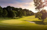 View Sandford Springs Golf Club's picturesque golf course situated in incredible Hampshire.