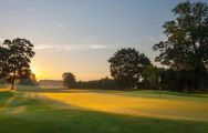 The Sprowston Manor Golf Club's picturesque golf course in stunning Norfolk.