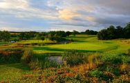 The Thorpeness Golf Club's scenic golf course situated in gorgeous Suffolk.
