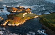 All The Cypress Point Club's lovely golf course within impressive California.