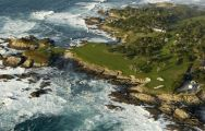 The Cypress Point Club's lovely golf course within impressive California.
