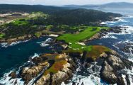 The Cypress Point Club's picturesque golf course in incredible California.