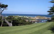 View Cypress Point Club's scenic golf course within stunning California.