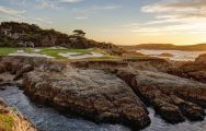 View Cypress Point Club's picturesque golf course within striking California.