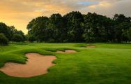 The Kedleston Park Golf Club's beautiful golf course in magnificent Derbyshire.