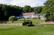 The Chesterfield Golf Club's scenic golf course situated in dramatic Derbyshire.