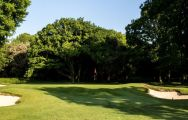 The Ashridge Golf Club's lovely golf course situated in vibrant Hertfordshire.