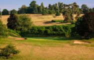The Knole Park Golf Club's impressive golf course situated in striking Kent.