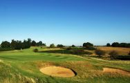 The Knole Park Golf Club's lovely golf course situated in brilliant Kent.