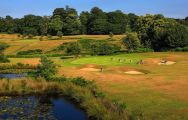 The Knole Park Golf Club's impressive golf course within brilliant Kent.