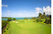 Anahita by Ernie Els includes several of the best golf course in Mauritius